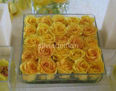rose gialle matrimonio