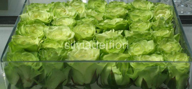 fiori verdi matrimonio