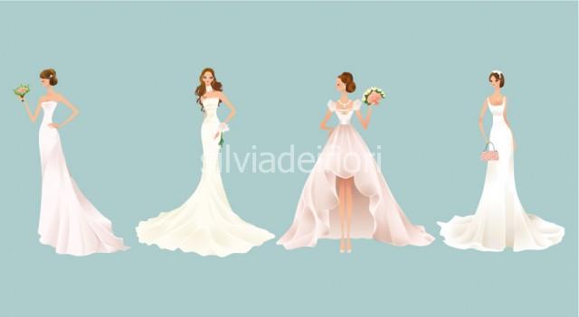 Bouquet accessorio a borsetta per sposa