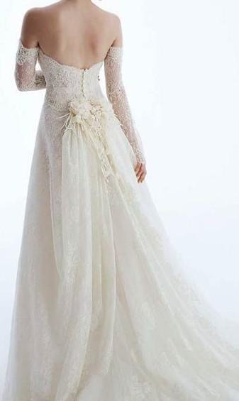 abito da sposa shabby chic