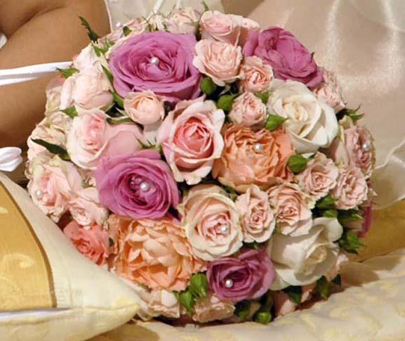 Bouquet Sposa Fiori Darancio.Il Bouquet Da Lancio Silviadeifiori