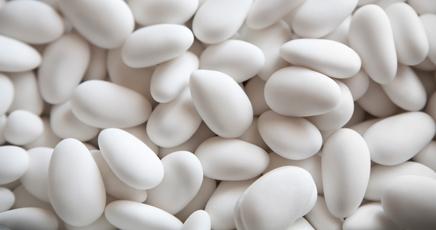 confetti bianchi