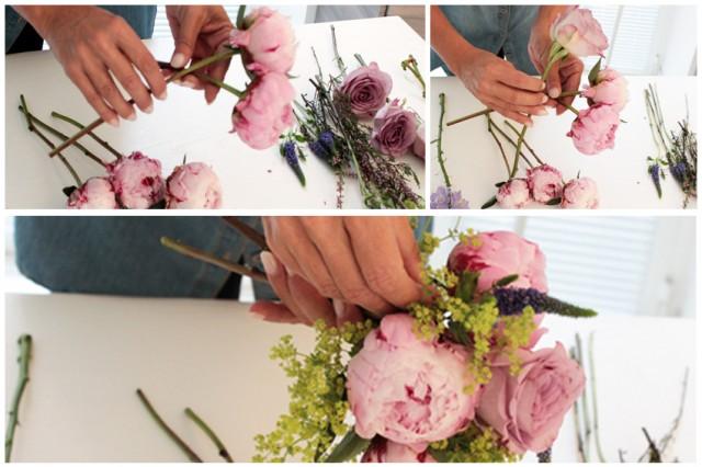 creazione bouquet