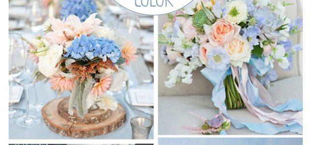 Matrimonio Azzurro Serenity : I colori di moda per la primavera siete d accordo