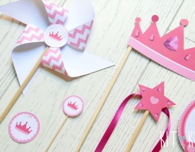 party princess girl rosa