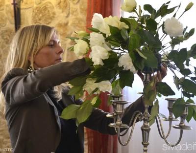 silvia dei fiori al lavoro