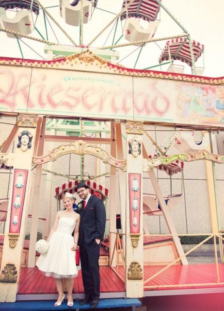 Ben noto Matrimonio Vintage con un pizzico di Circus: arrivano sorprese  SD89