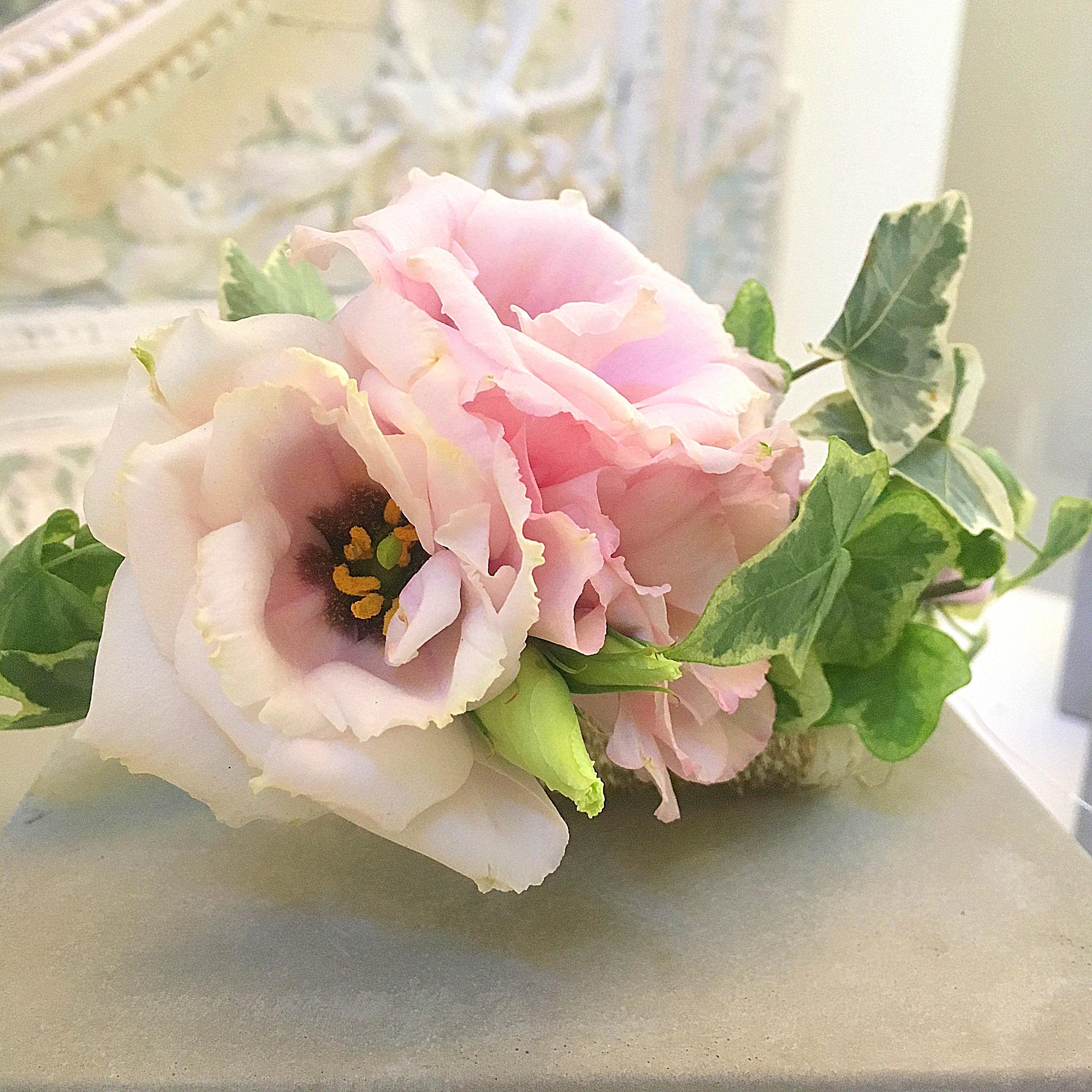 come fare cerchietto con fiori freschi
