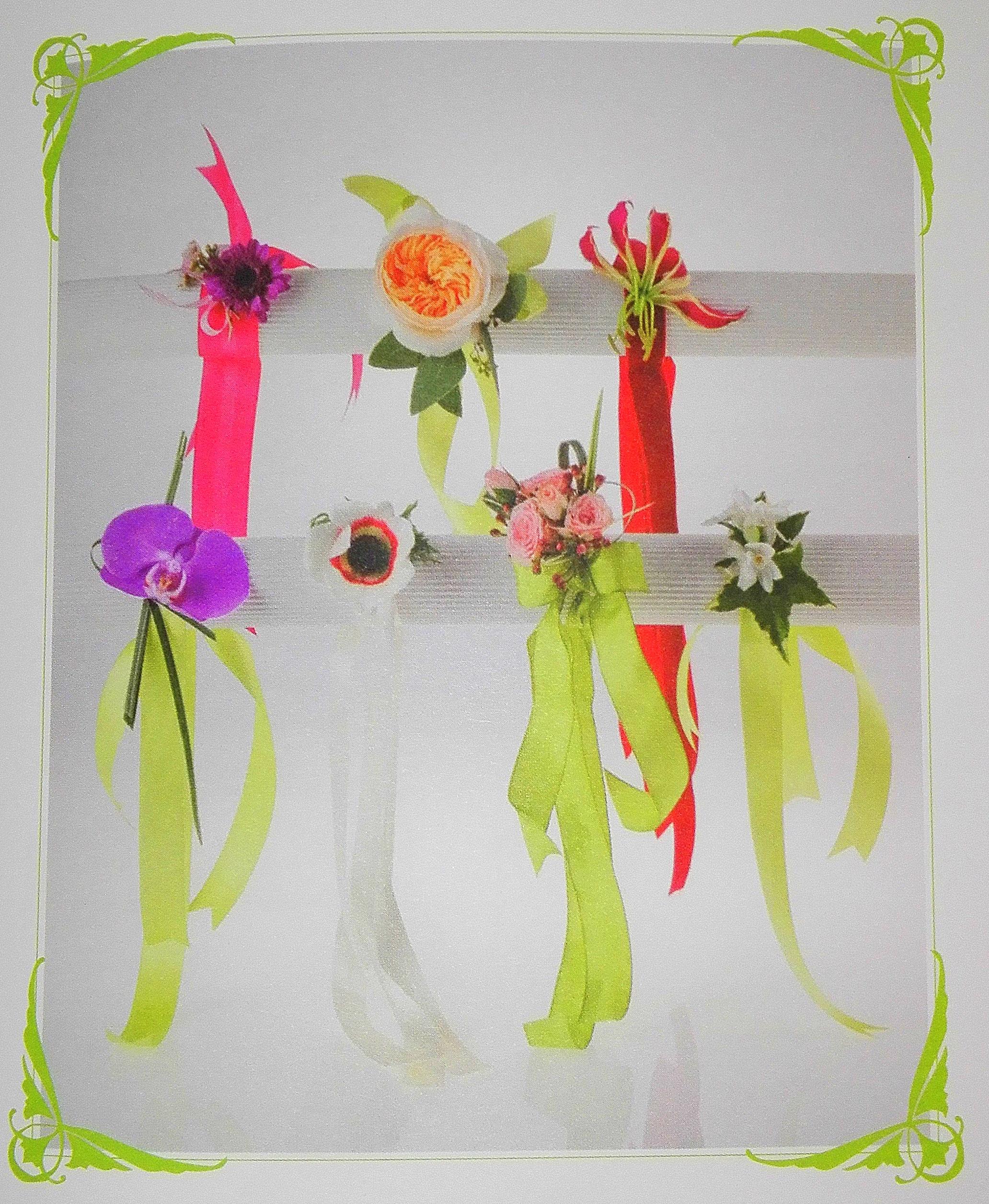 bracciali con fiori tutorial