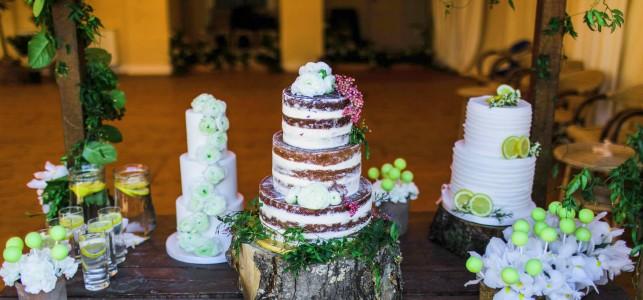 allestimento torta per ricevimento matrimonio