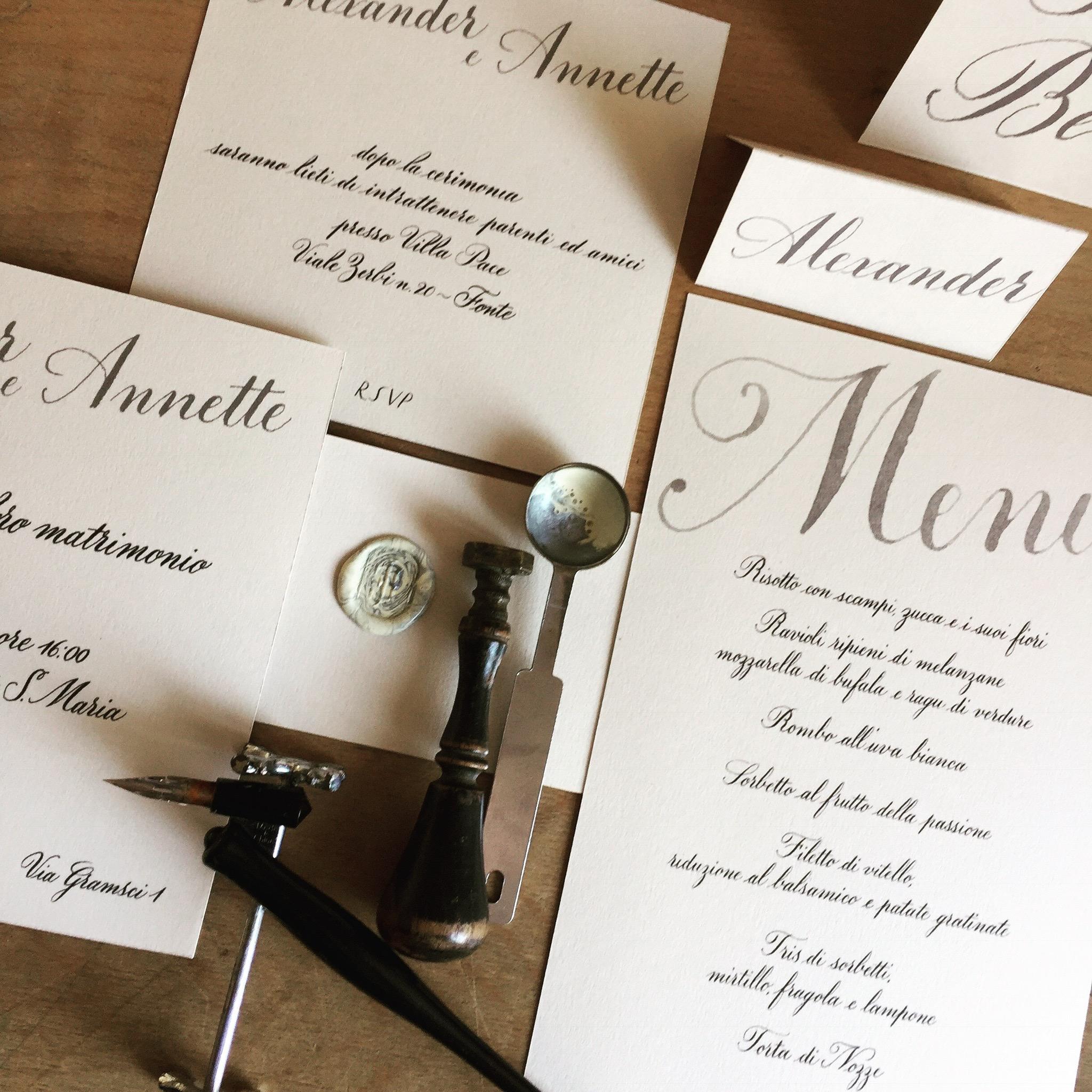 calligrafia creativa silviadeifiori